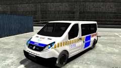 Opel Vivaro Hungarian Police Van для GTA 4