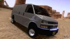 Chevrolet Savana 3500 Cargo Van для GTA San Andreas