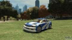 BMW M3 GTR NFS MOST WANTED для GTA 4