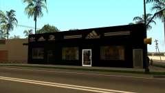 Полная замена магазинов Binco на Adidas