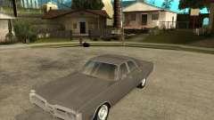 1972 Plymouth Fury III Stock для GTA San Andreas