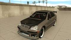 Mercedes-Benz C32 AMG Tuning для GTA San Andreas