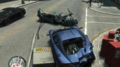 Реалистичные повреждения авто
