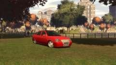 Лада Приора хетчбэк для GTA 4
