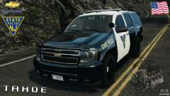 Chevrolet Tahoe Marked Unit [ELS] для GTA 4