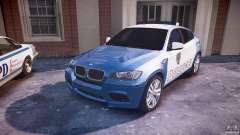 BMW X6M Police для GTA 4