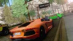 Аварии на дорогах для GTA San Andreas
