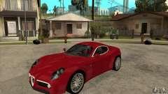 Alfa Romeo 8С Competizione stock