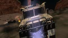 Hummer H1 из COD MW 2 для GTA San Andreas