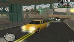 ВАЗ Лада Приора Такси для GTA San Andreas