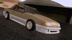 Ford Mustang GT 5.0 Convertible 1987 для GTA San Andreas