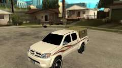 Toyota Hilux 2010 для GTA San Andreas