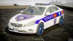 Volvo S60 Macedonian Police [ELS]