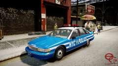 Chevrolet Caprice 1991 NYPD для GTA 4