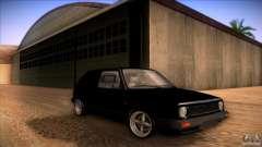 Volkswagen Golf MK II для GTA San Andreas