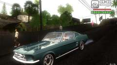 Ford Mustang 1967 American tuning для GTA San Andreas