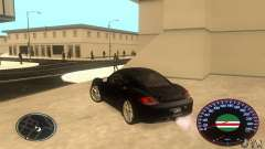 Chechen Speedometr для GTA San Andreas