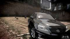 Lexus IS-F для GTA 4