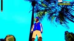 Skin бомжа v4 для GTA San Andreas