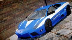 Lamborghini Reventon Polizia Italiana