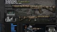 [Point Blank] SG550 Kamo для GTA San Andreas