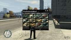ProVehicleMod v.1.0.1 для GTA 4