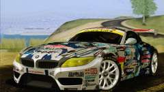 BMW Z4 E89 GT3 2010 Final для GTA San Andreas