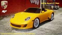 Ruf RK Spyder v0.8Beta для GTA 4