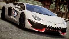 Lamborghini Aventador LP700-4 2012 USAF для GTA 4