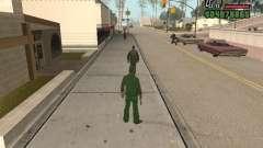Ragdoll + Endorphin mod v1.0 для GTA San Andreas