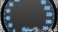 Спидометр IV (Скин 6) для GTA 4