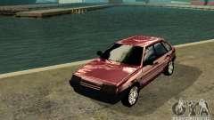 Ваз 2109 chrome для GTA San Andreas