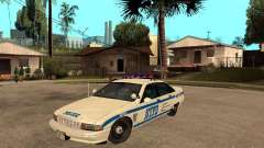 NYPD Chevrolet Caprice Marked Cruiser для GTA San Andreas