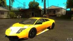 Lamborghini Murcielago LP 670 SV для GTA San Andreas