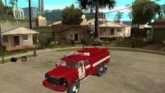 Зил 133ГЯ АЦ пожарный для GTA San Andreas