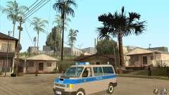 Volkswagen Transporter T4 German Police