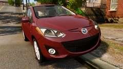 Mazda 2 2011 для GTA 4