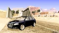 Audi S4 Avant голубой для GTA San Andreas