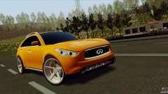 Infiniti FX37 для GTA San Andreas