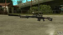 MK14 EBR с глушителем для GTA San Andreas