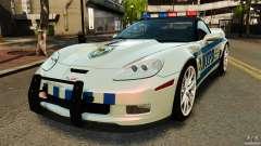 Chevrolet Corvette ZR1 Police