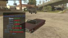 Extreme Car Mod (Single Player) для GTA San Andreas
