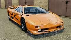 Lamborghini Diablo SV 1997 v4.0 [EPM] для GTA 4