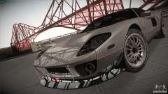 Ford GT серебристый для GTA San Andreas