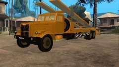 КрАЗ 255 автовоз для GTA San Andreas