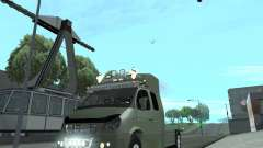 ГАЗель 2705 для GTA San Andreas