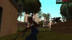 АК-47 со штыком для GTA San Andreas