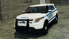 Ford Explorer NYPD ESU 2013 [ELS]