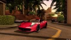 Ferrari 458 Italia Final для GTA San Andreas