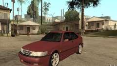 Saab 9-3 Aero 1999 для GTA San Andreas